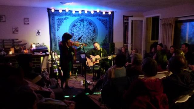 Chinese Melodrama at house concert