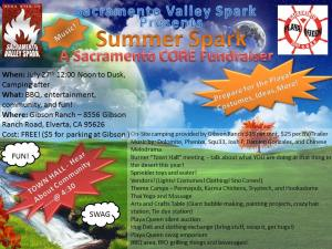 Summer Spark poster