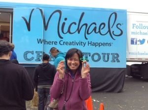 Michaels craft truck