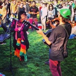 So many great moments from ULUV Music Day in SanFrancisco!