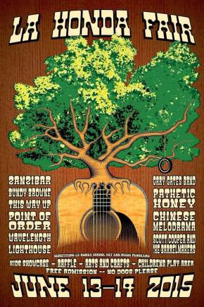 La Honda Music Fair and Festival – Sunday June 14th!